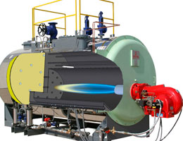 Принцип работы промышленного парогенератора